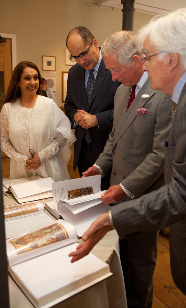 Veeda-Ahmed-with-Prince-Charles,-Prof-Keith-Critchlowand-Dr-Khaled-Azzam.-1